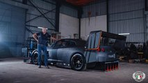 La Nissan GT-R preparata da Franco Scribante Racing