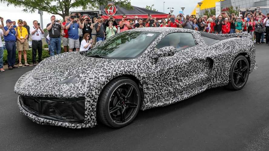 Mid-Engined Corvette C8 makes surprise appearance