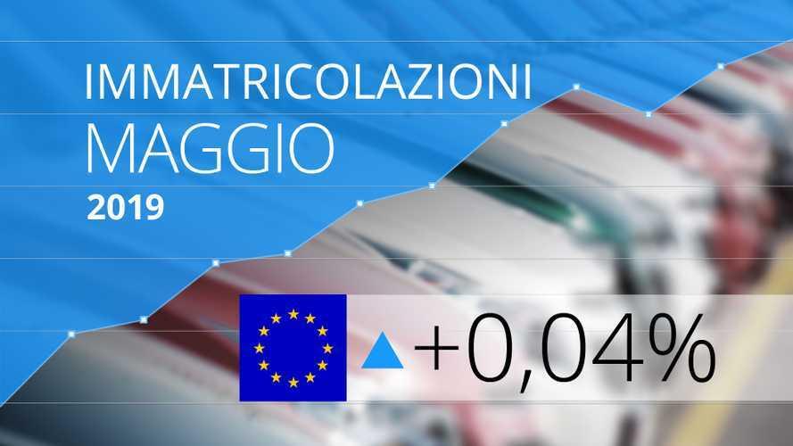 Mercato auto, piccolo segno positivo per l'Europa