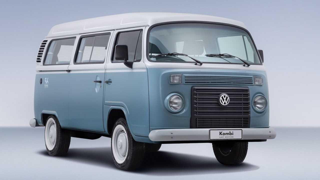 9. One of the last Microbus camper vans built