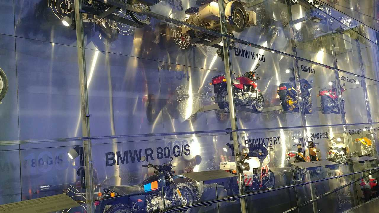 A Wall Of Motorcycle History
