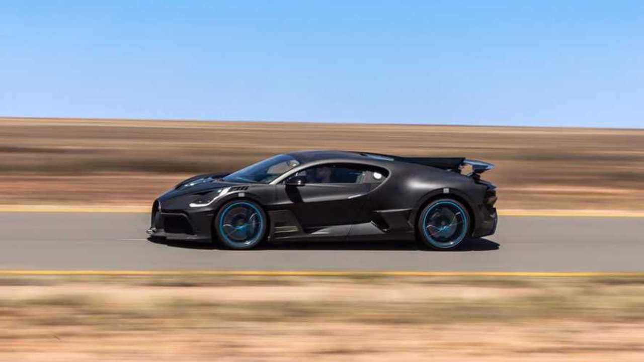 Bugatti Divo Desert Testing