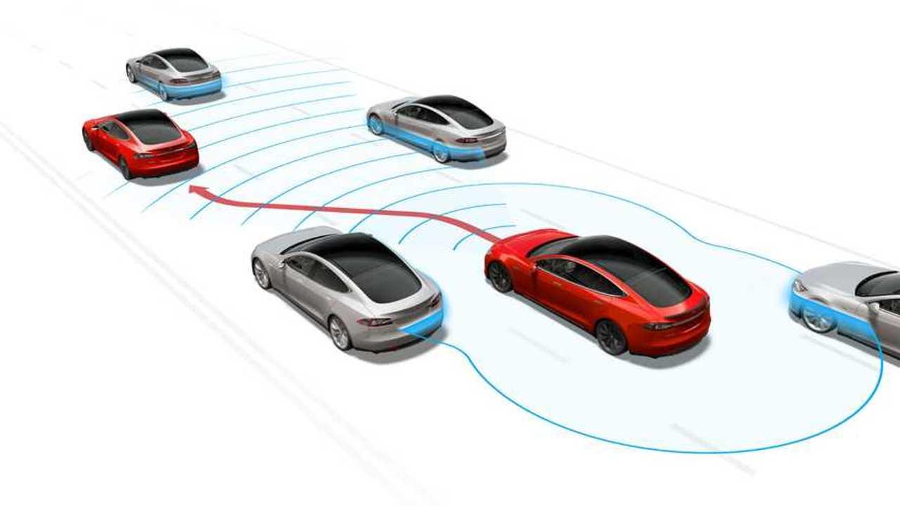 Tesla-Grafik zur Sensortechnik (2019)