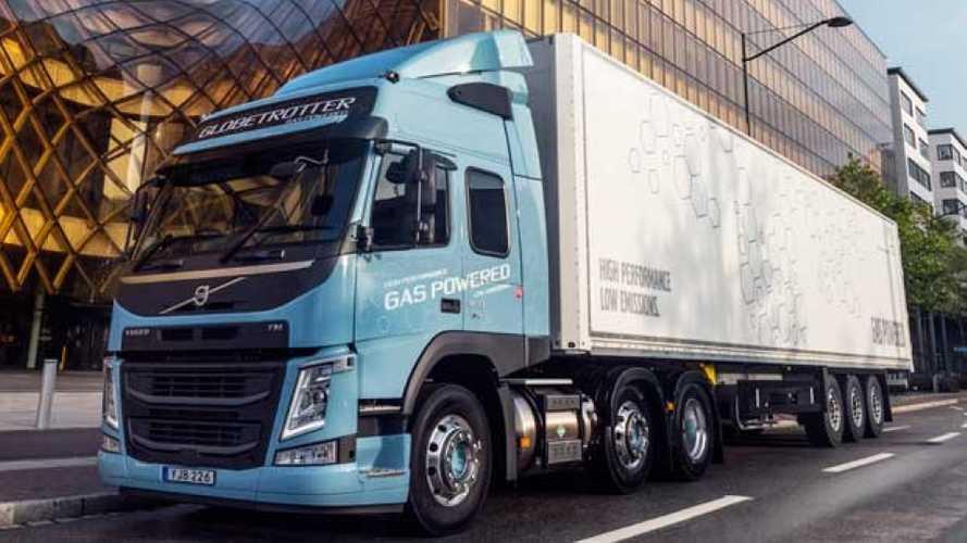 Volvo Trucks lancia il camion a gas Euro6 | VIDEO
