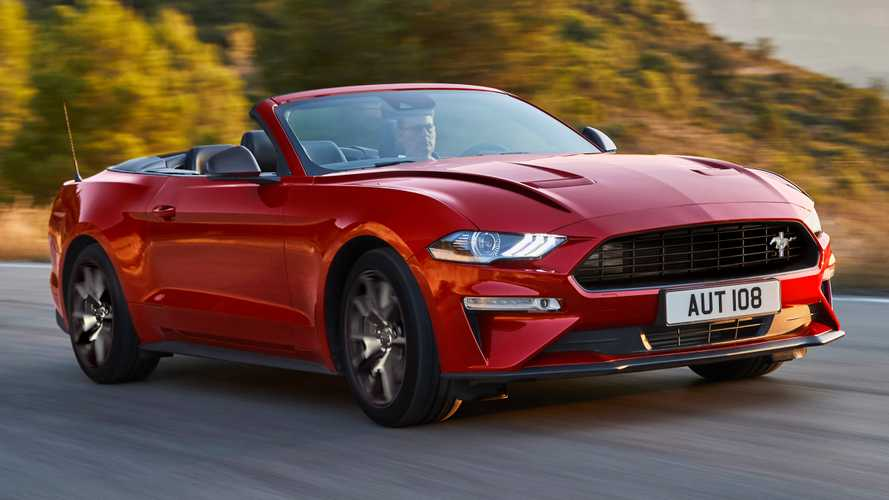 Ford Mustang55 Says Happy Birthday To The Pony Car In Europe