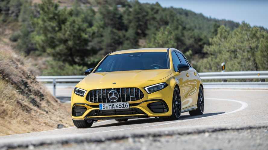 Vidéo - La Mercedes-AMG A 45 S se dote d'un échappement Akrapovic
