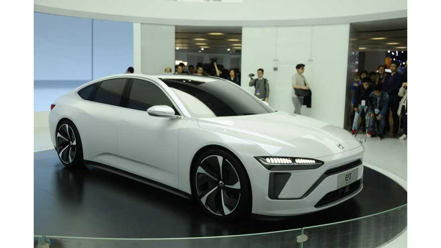 NIO Presents ET Preview & Latest Tech At Shanghai Auto Show