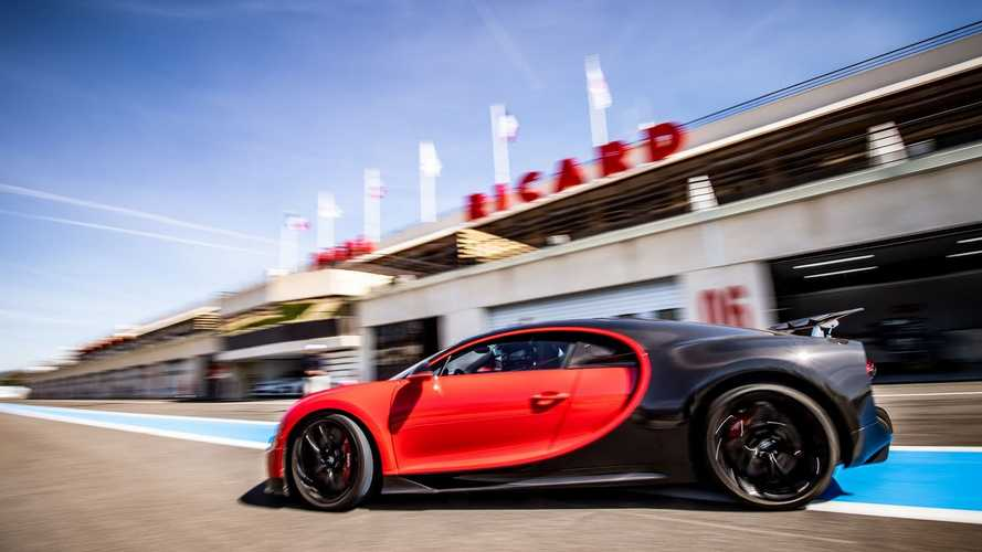 Bugatti Chiron, Paul Richard Circuit