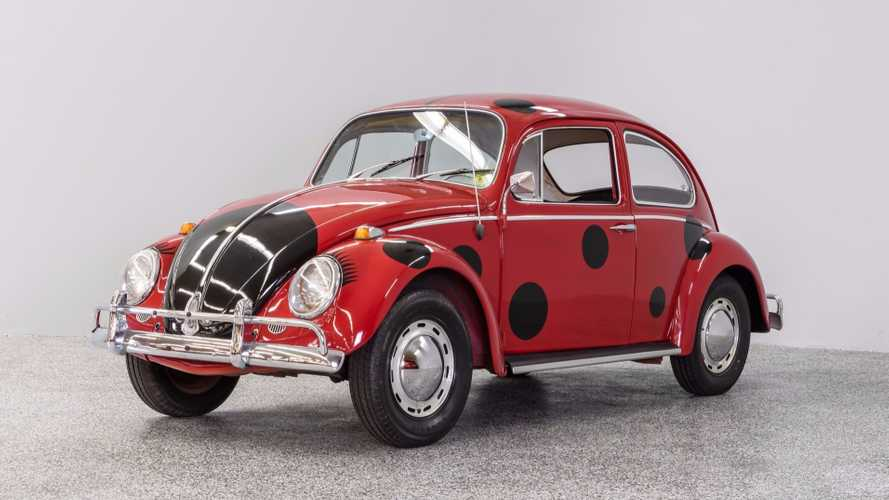 Forget The 'Love Bug', Meet the 1965 VW 'Lady Bug' Beetle