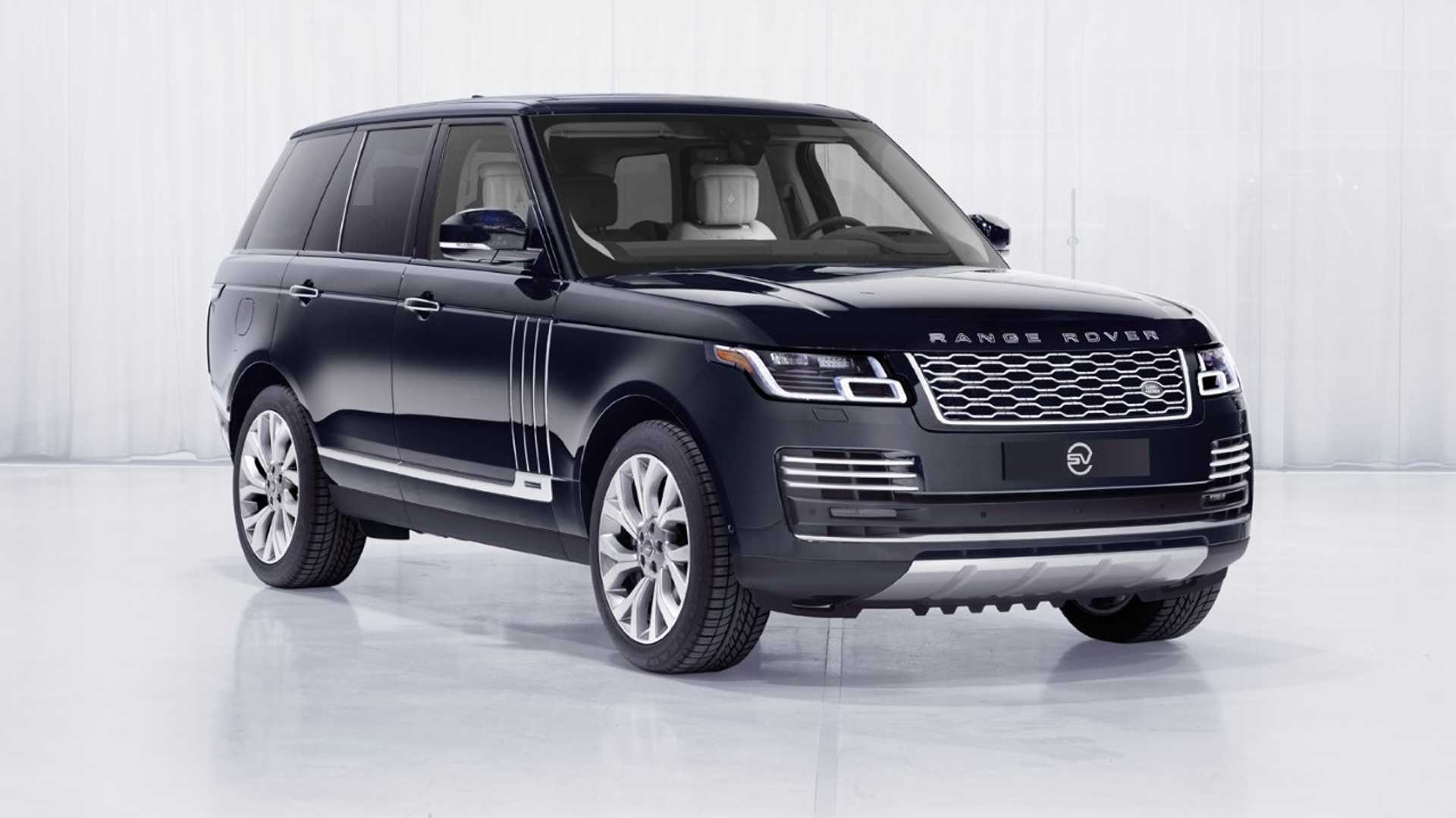 Range Rover Astronaut Edition Is Only For Those Flying Into Space