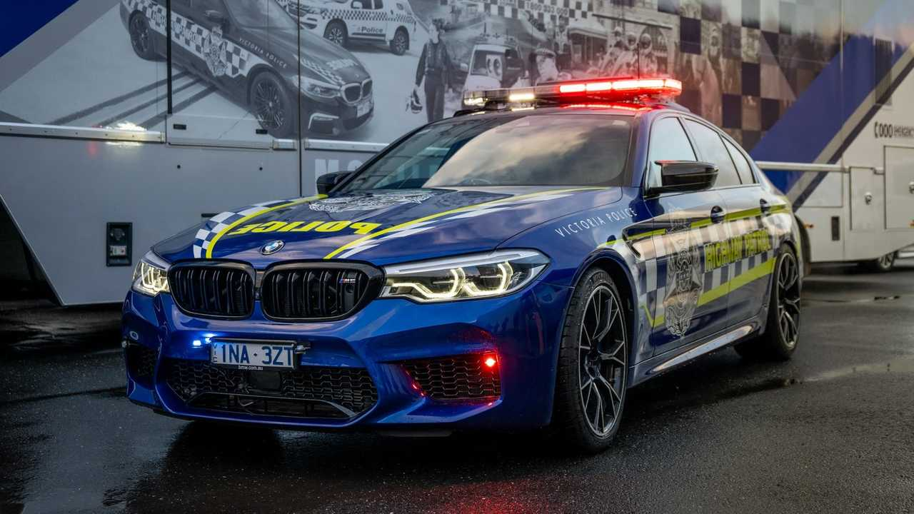 BMW M5 Competition police australienne