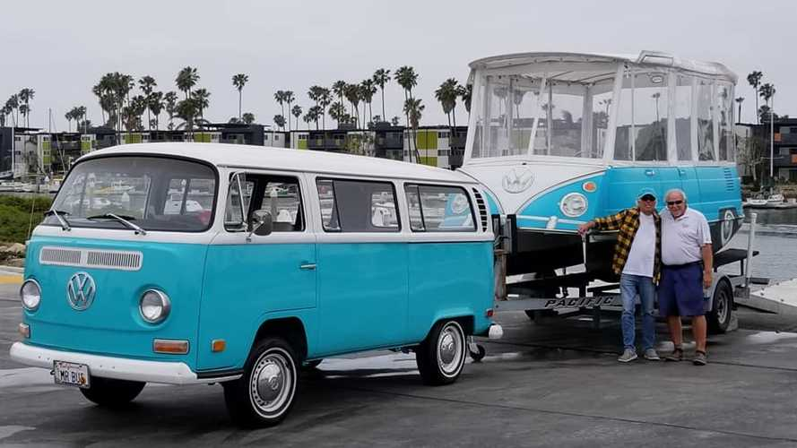 VW Bus Electric Boat Is Cooler Than It Has A Right To Be