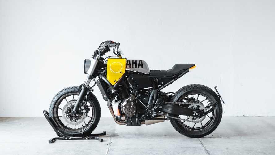 "Yamaha XSR700 Grasshopper, la special ""fai da te"" di Hookie Co."