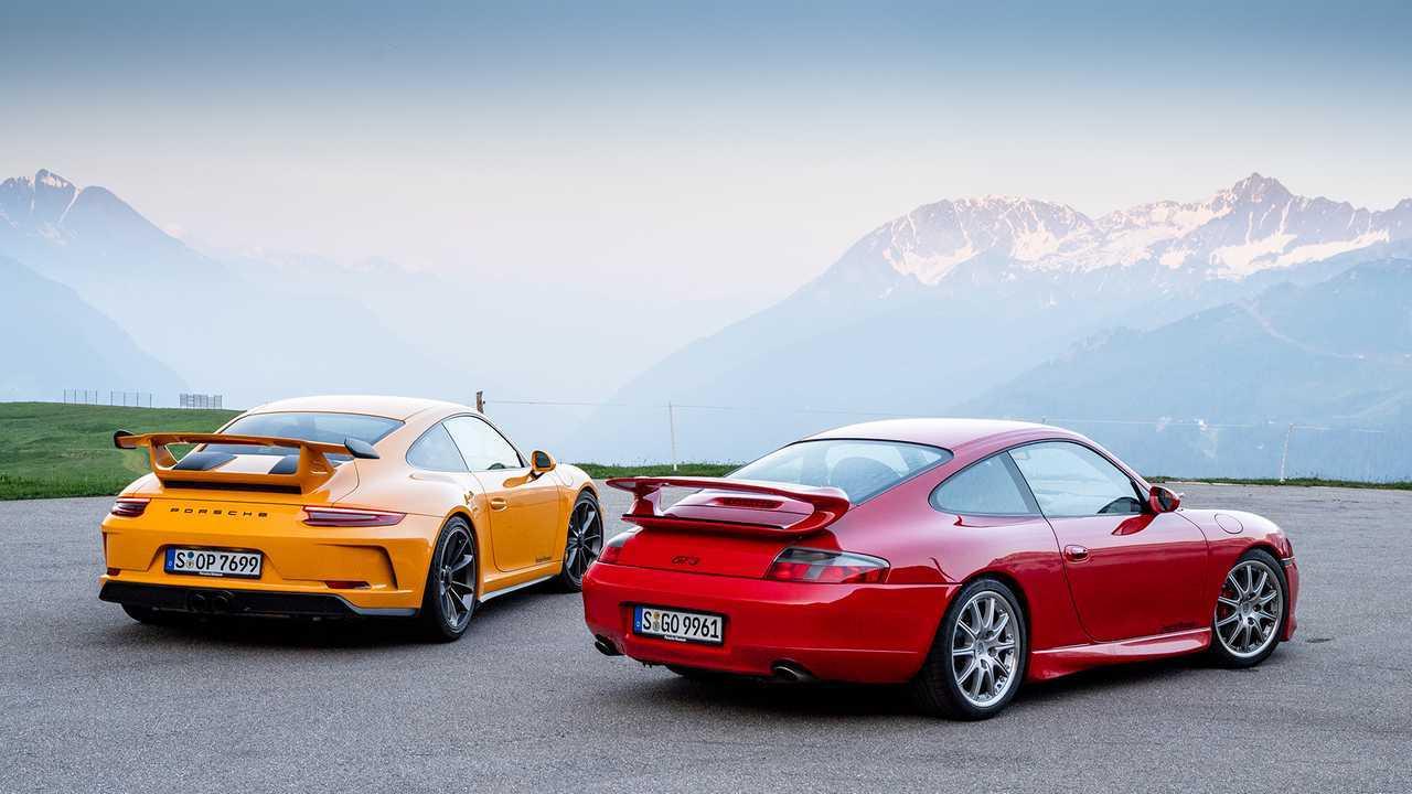 Porsche 996.1 GT3 und 991.2 GT3