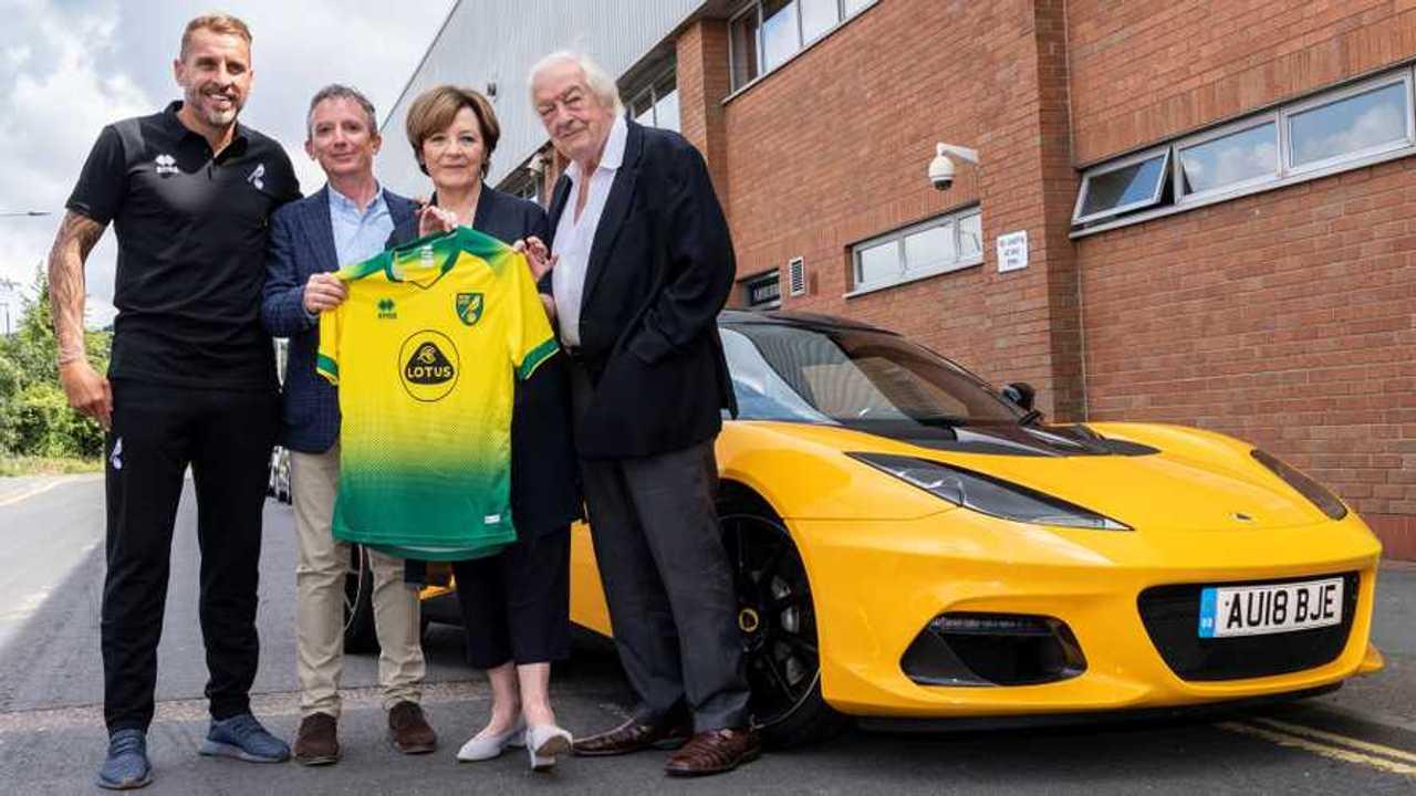 Lotus Norwich City FC sponsorship deal