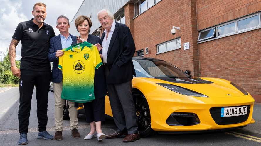 Lotus signs sponsorship deal with Norwich City Football Club