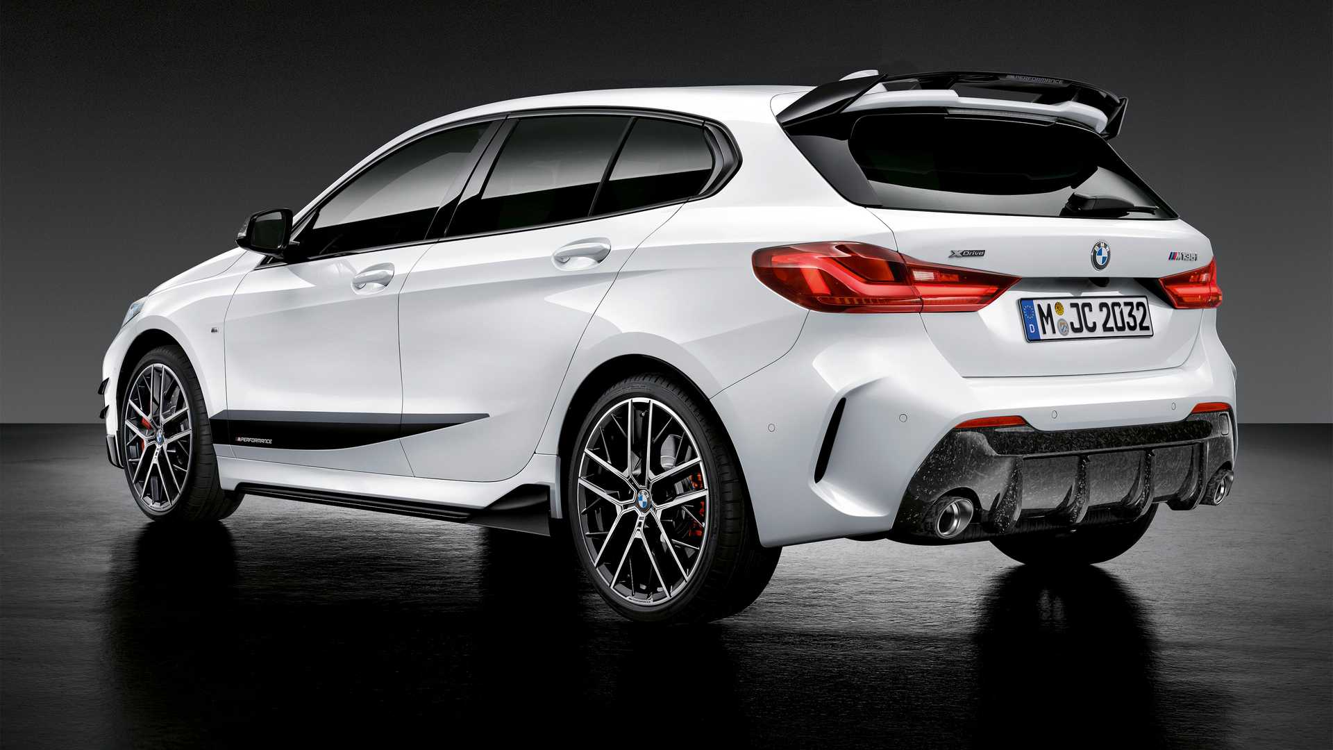Bmw M Series >> 2020 Bmw M135i Xdrive Gets Sporty Look With M Performance Parts
