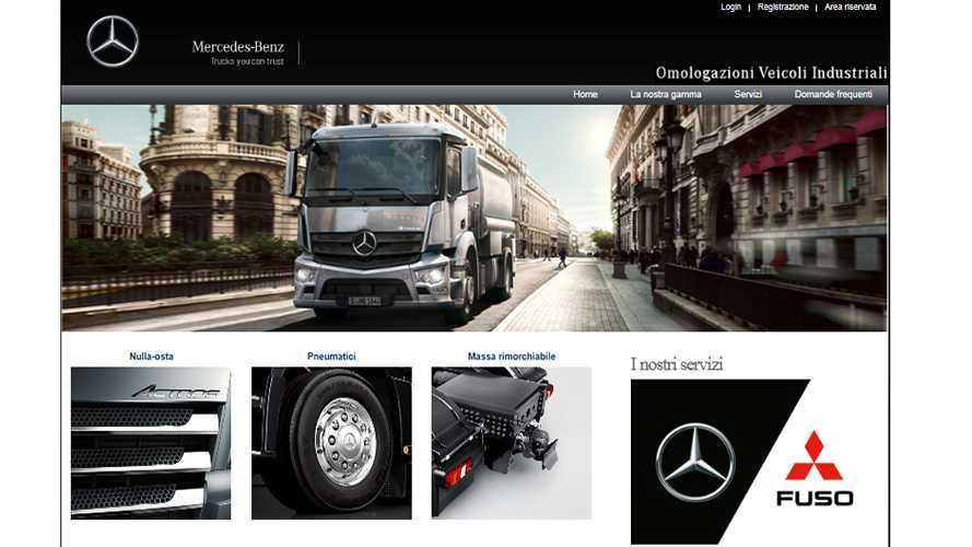 Mercedes-Benz Trucks Italia lancia le omologazioni 4.0
