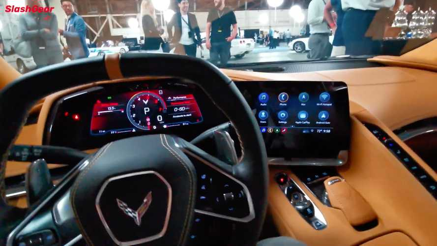 2020 Chevy Corvette C8 interior explained by lead designer