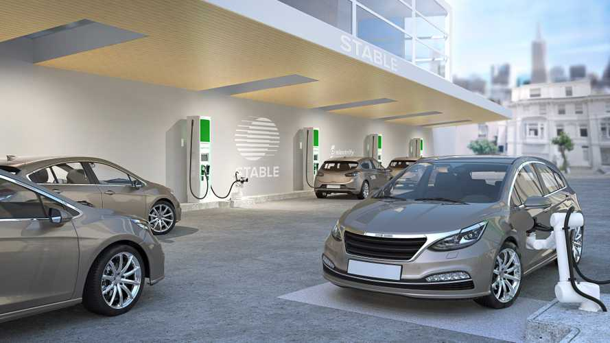 Robotic EV charging technology presented in America