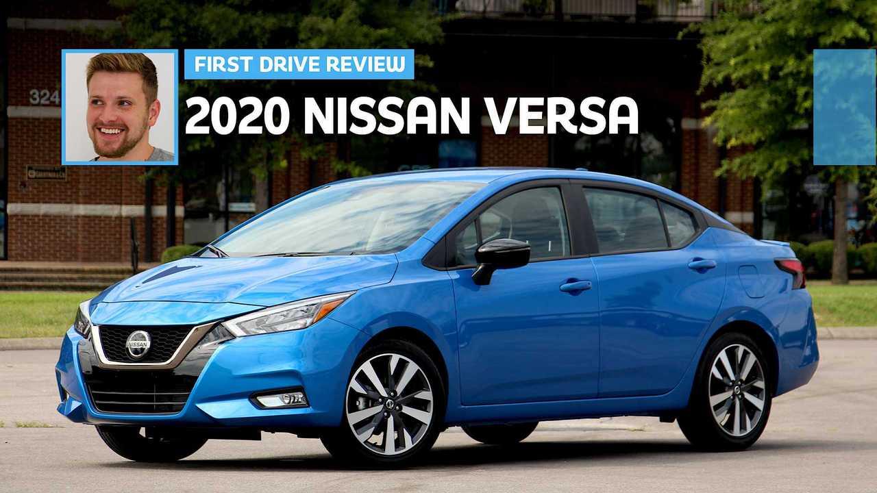 2020 Nissan Versa: First Drive
