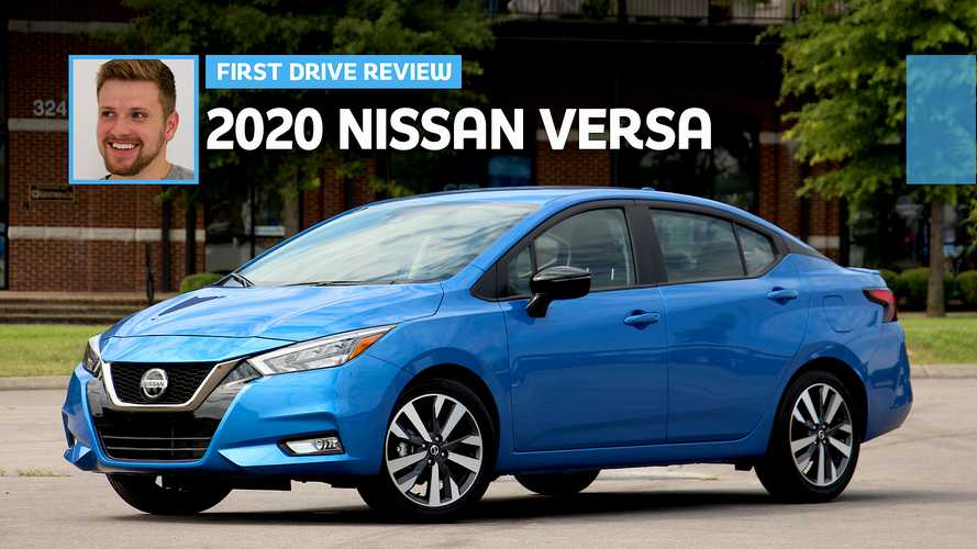 2020 Nissan Versa First Drive: Safety First