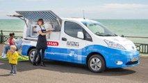Eiswagen-Prototyp von Nissan: Elektrisch, emissionsfrei, eiskalt