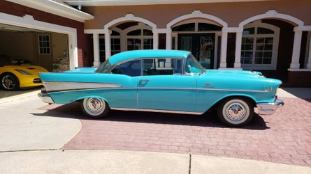 1957 chevy bel air with fuel injection to be auctioned