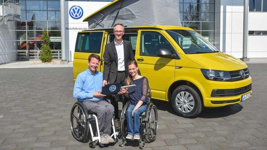 Un Volkswagen California per Anna Schaffelhuber
