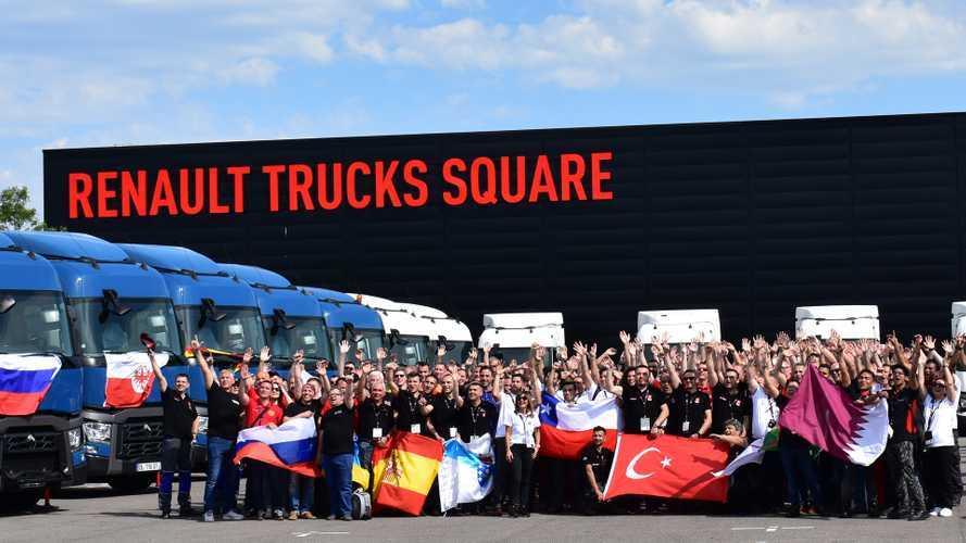 Renault Trucks RTEC 2019. Ha vinto l'Austria.