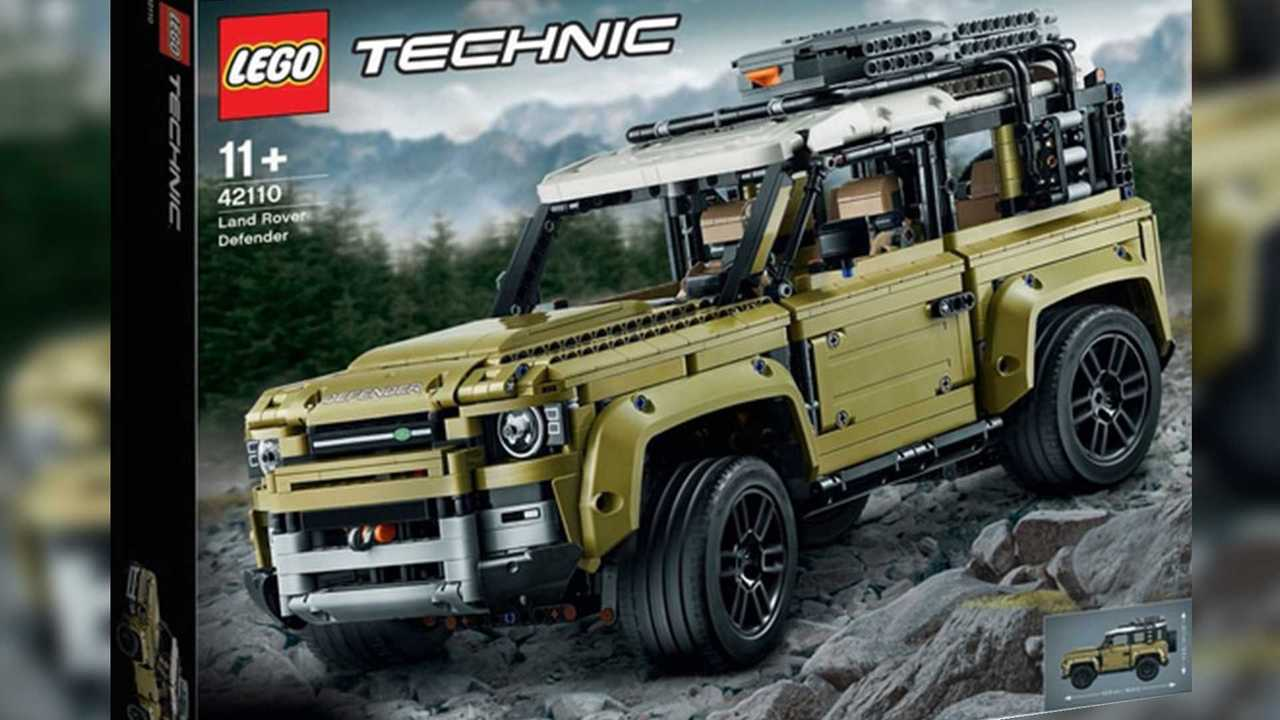 Land Rover Defender Lego Technic