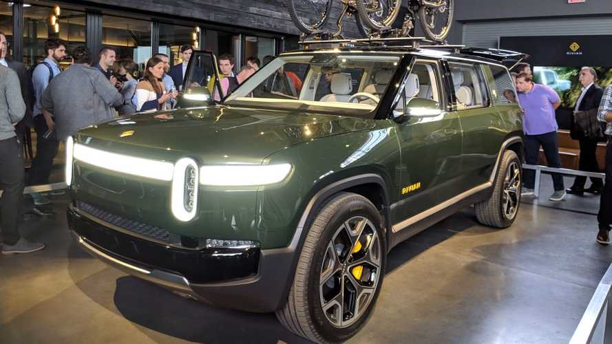 Rivian R1T Truck & R1S SUV Wow NYC Ahead Of Auto Show