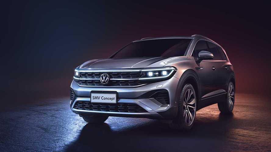 Volkswagen SMV - Un énorme SUV destiné au marché chinois