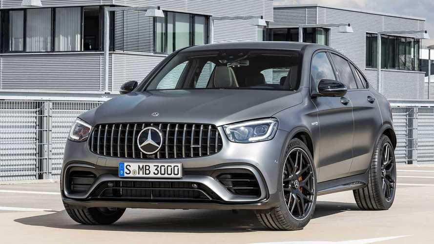 Jobb kezelhetőséget ígér a Mercedes AMG GLC 63 és GLC 63 Coupé
