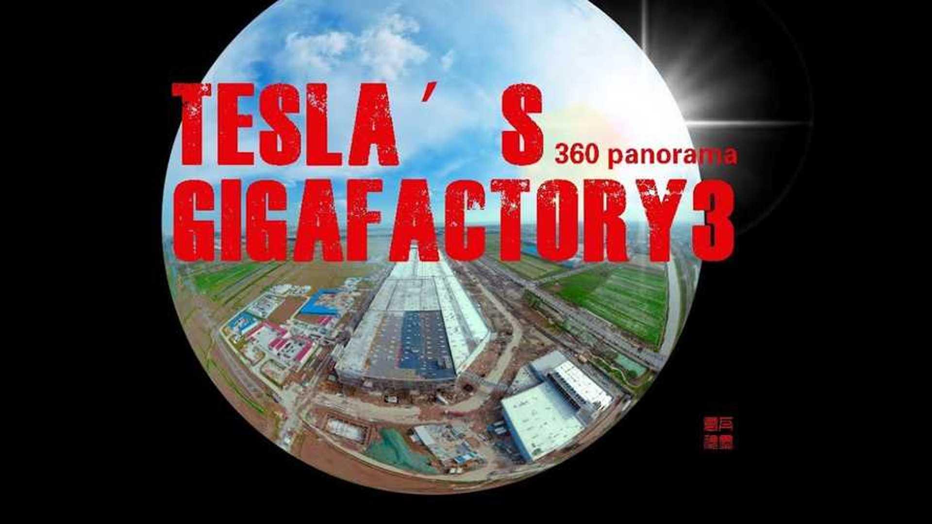 Tesla Gigafactory 3 Featured In Stunning Panoramic View