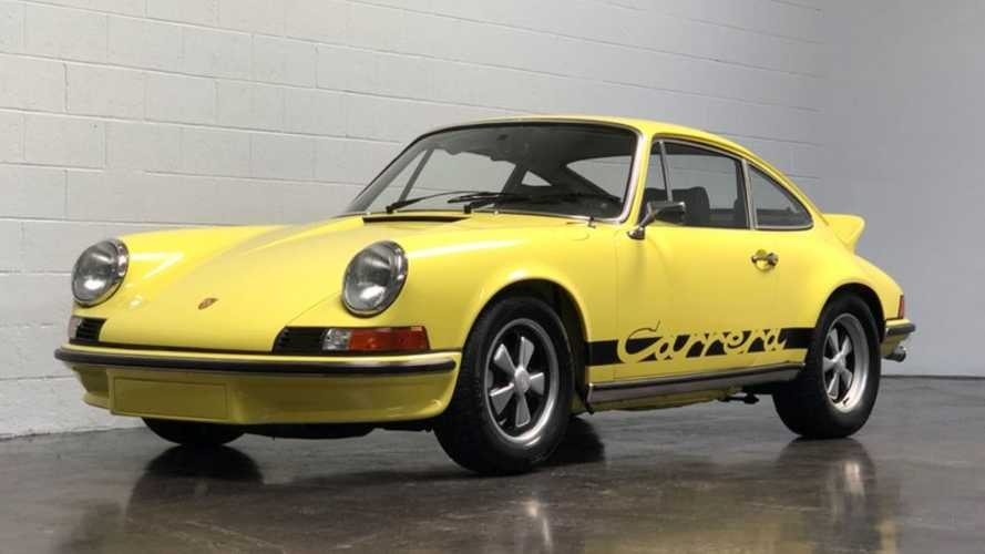 1973 Porsche 911 Carrera RS Has Motorsports Connections