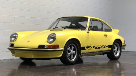 1973 porsche 911 carrera rs has motorsports connections