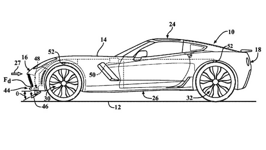 New GM Patent Suggests C8 Corvette Could Get Advanced Active Aero