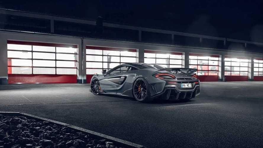 Novitec Modifiyeli McLaren 600LT