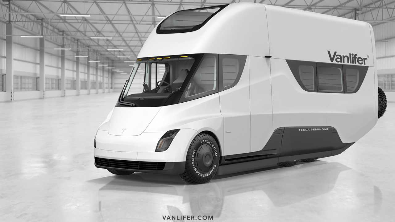 Tesla Semihome RV Vanlifer