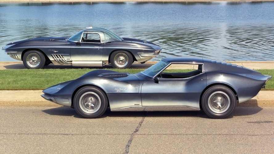 Chevrolet Mako Shark: «акулий след» в истории Corvette C2 и C3