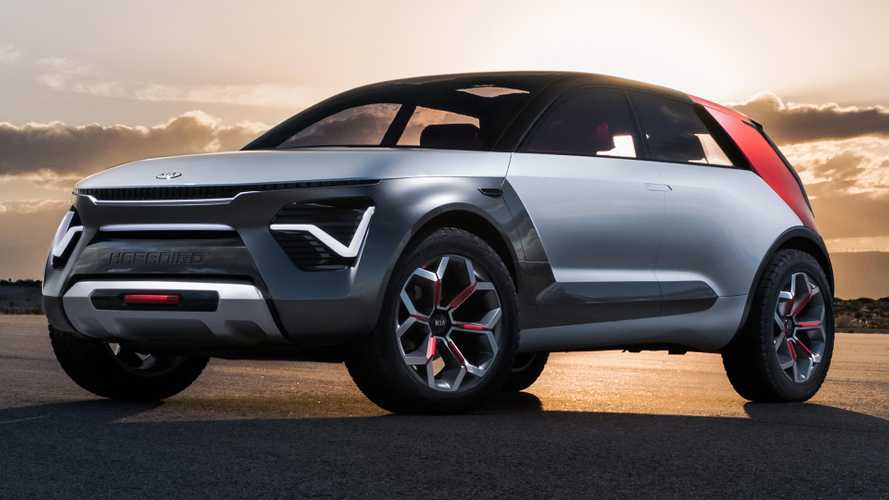 Kia Habaniro Concept debuts as colourful electric crossover