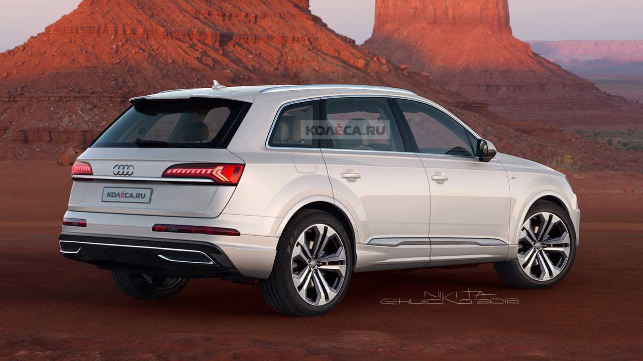 2021 Audi Q7 Spy Shots, Release Date, Specs, Price >> 2020 Audi Q7 Facelift Accurately Rendered Based On Spy Shots
