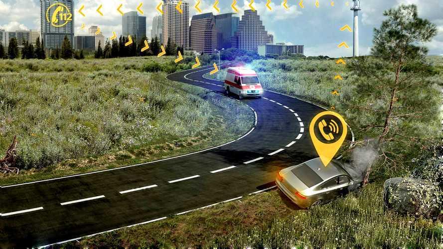 Kazalarda araçlar 112'yi otomatik arayacak
