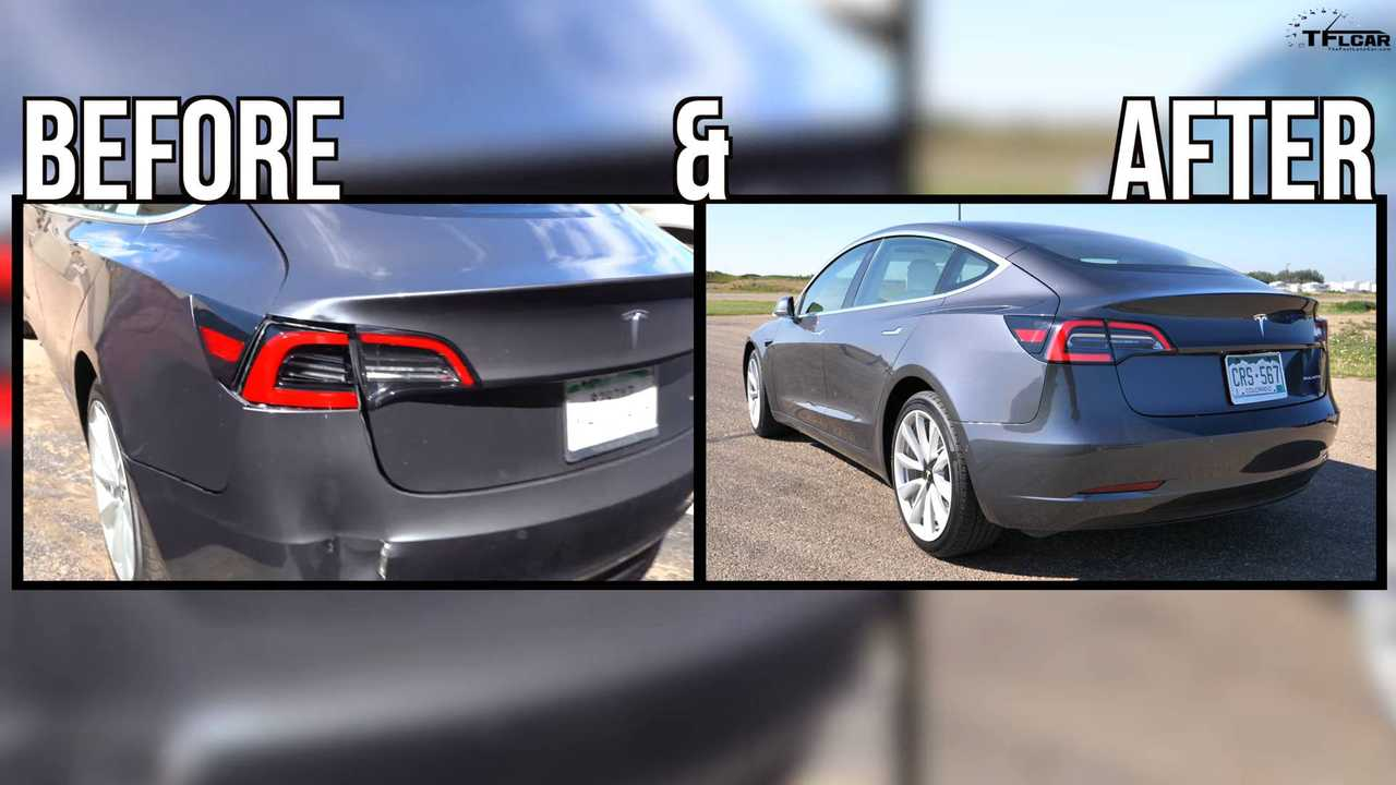 Reviewer's Tesla Model 3 Repair Situation Is Finally Solved