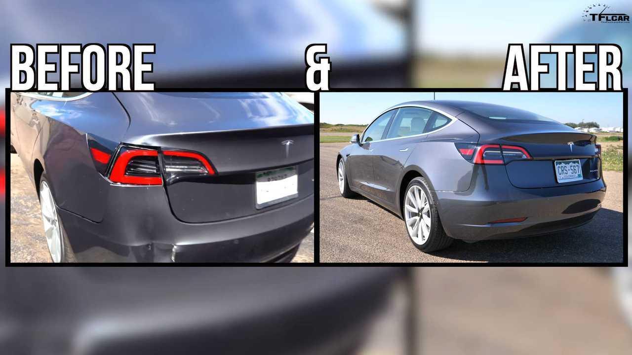 Hakemin Tesla Model 3 Onarım Durumu Sonunda Çözüldü