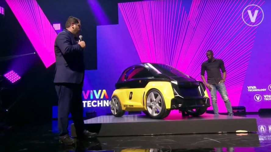 Usain Bolt Introduces B-Nano EV For Car Sharing