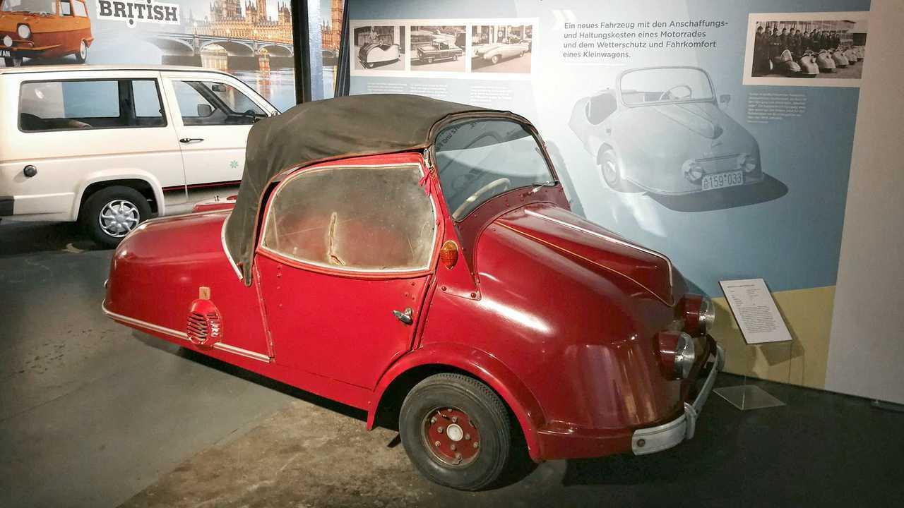 Kleinwagen-Ausstellung in Einbeck: Kroboth Allwetter-Roller