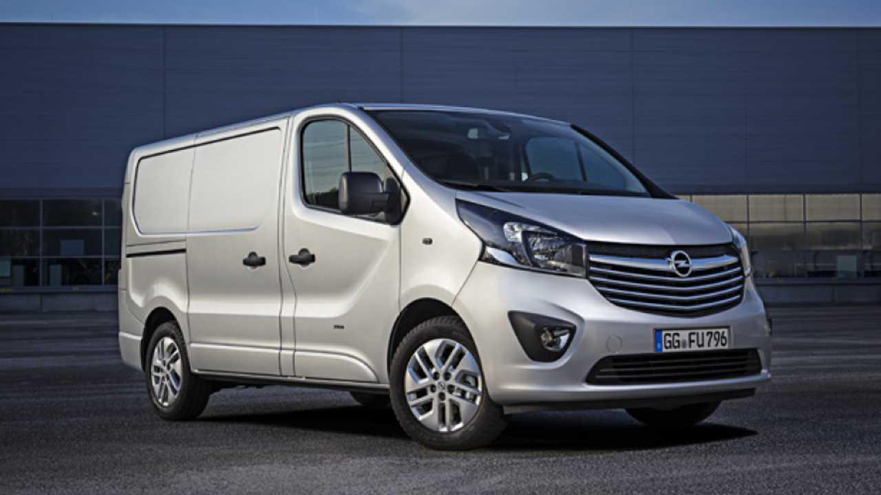 Arriva il Nuovo Opel Vivaro