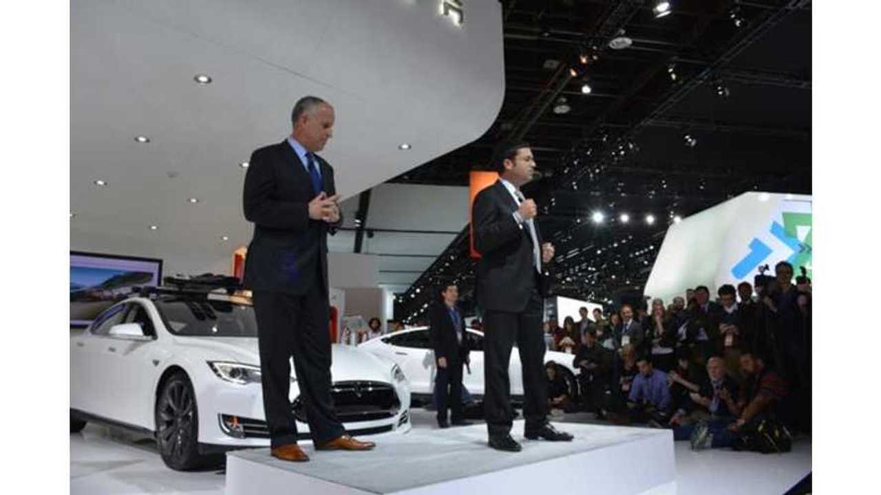Video: Tesla Motors Press Conference at 2014 NAIAS